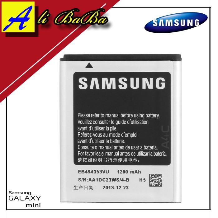 harga Baterai handphone samsung galaxy mini s5570 batre hp battery samsung Tokopedia.com