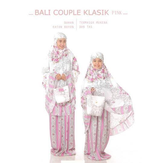 Mukena Bali Couple Klasik Sd Besar (9-12 Tahun) + Dewasa