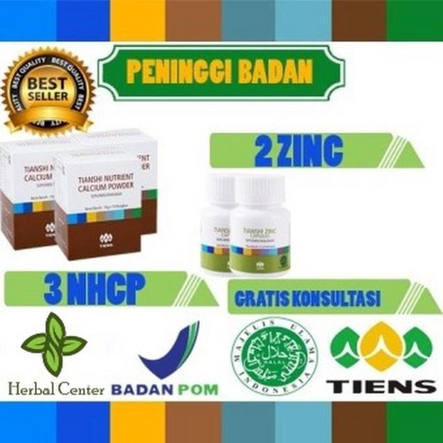 Tiens Nutrient Hight Calcium Powder Dan Zinc peninggi badan