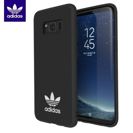 adidas originals tpu moulded case samsung galaxy s8 - black/white