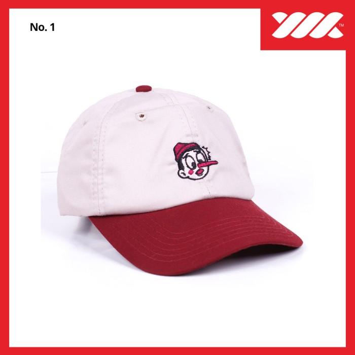 harga Baseball Cap / Polo Cap / Dad Hat / Topi Wadezig (original) Updated Tokopedia.com
