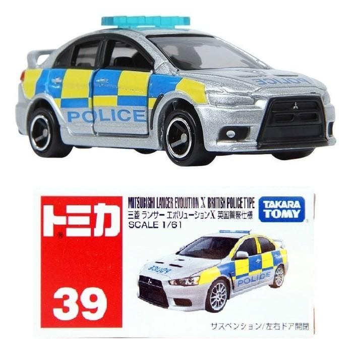 harga Miniatur mobil polisi tomica series no 39 mitsubishi lancer evo police Tokopedia.com