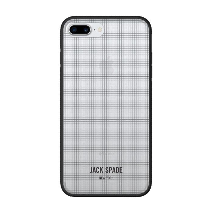 Jual  Jack Spade Iphone 7 Plus Clear Case – Graph Check/Clear Harga Promo Terbaru