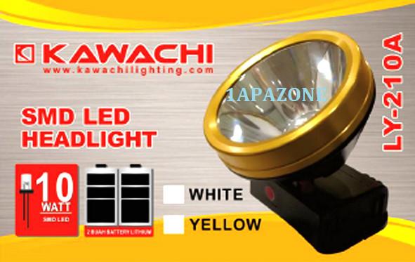 harga Senter kepala 10 watt ly-210a kawachi Tokopedia.com