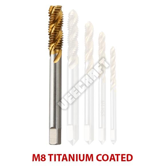 harga Tap drill bits m8 titanium coated / mata bor pembuat ulir baut Tokopedia.com