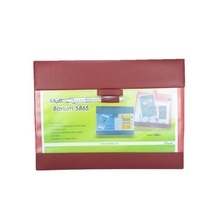 Jual Multi Organizer Barium Bambi 5865 Red Harga Promo Terbaru