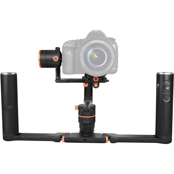 Feiyu tech a2000 3-axis gimbal dual handlegrip for mirrorless dslr