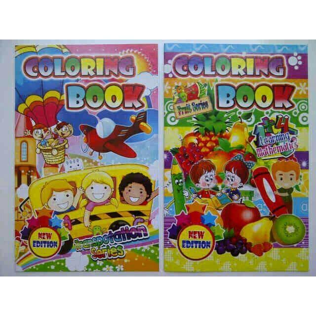 Jual Buku Mewarnai Colouring Souvenir Ult Anak Playgroup Paud Tk