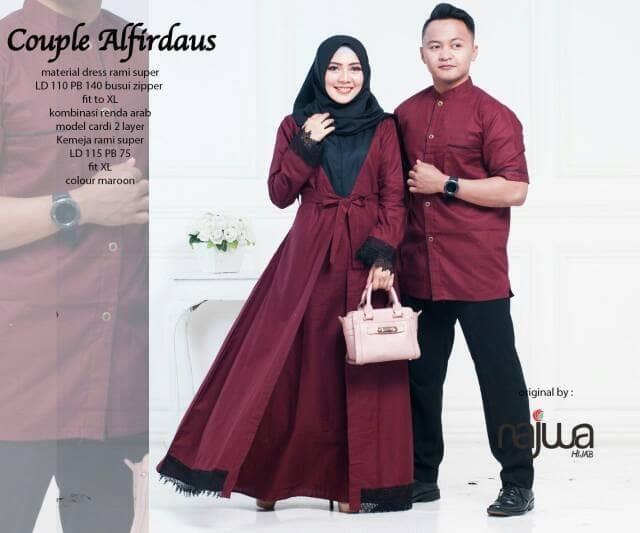 76 Gambar Baju Couple Gamis HD