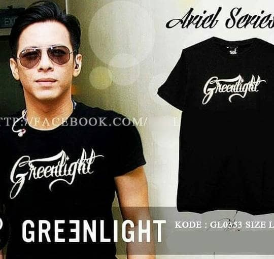 Distro/Kaos/Baju/T-Shirt/GREENLIGHT ADISI ARIEL