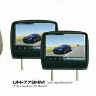 harga T mobil headrest monitor jec /audiobank Tokopedia.com