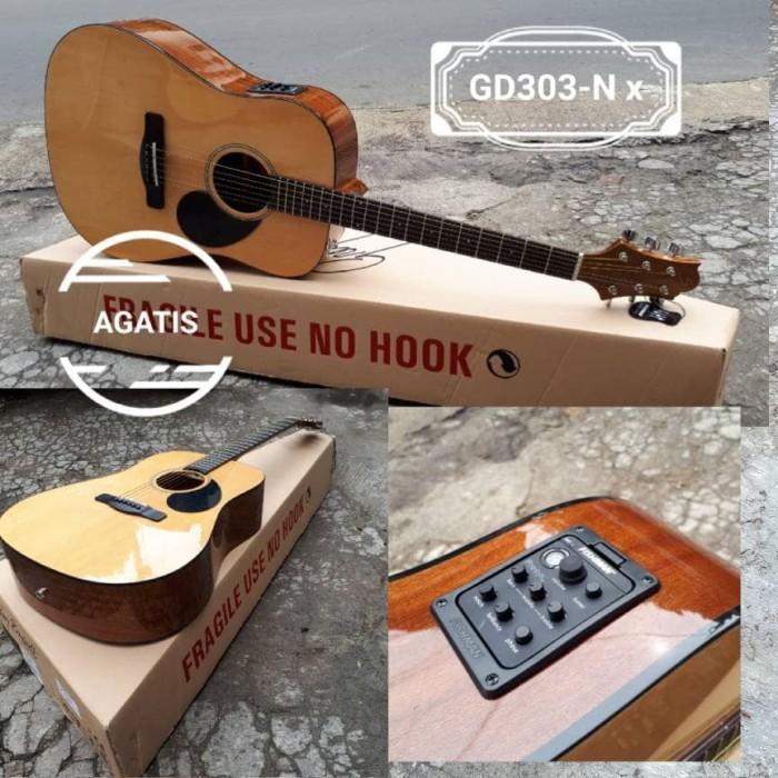 harga Gitar akustik elektrik samick gd303-n  eq fishman Tokopedia.com