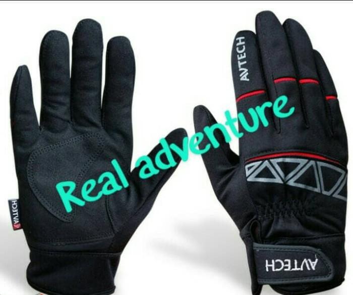 harga Sarung tangan motor sarung tangan gunung sepeda full finger avtech Tokopedia.com