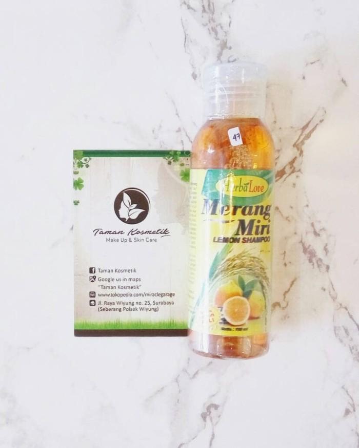 harga Herbalove merang miri lemon shampoo sampo 250 ml Tokopedia.com