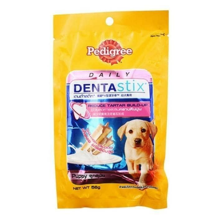 Pedigree Denta Stix Puppy 56gr - Snack Anjing