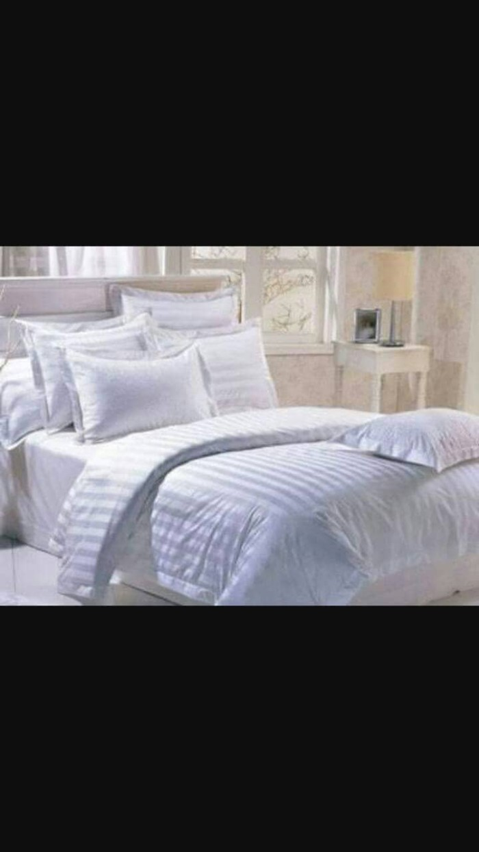 Jual Sprei Bedcover Dobby Import Sutra 180x200x45cm