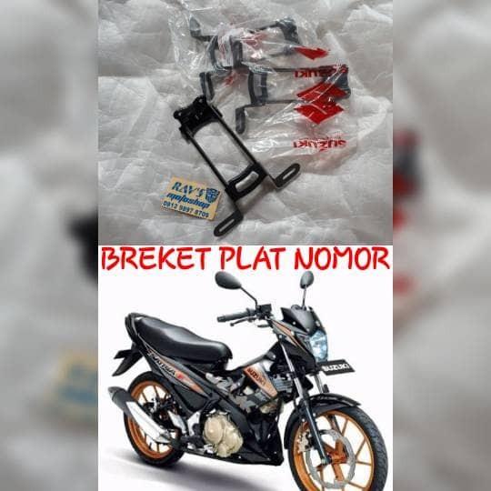 harga Breket plat nomor tempat dudukan plat nomor original satria fu all Tokopedia.com