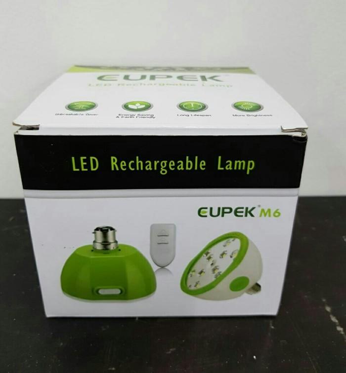 harga Lampu plc led emergency rechargeable + remote Tokopedia.com