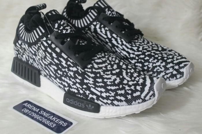 3092ce021b547 Jual Sepatu Adidas NMD R1 PK Sashiko Black - Premium Quality - Arena ...