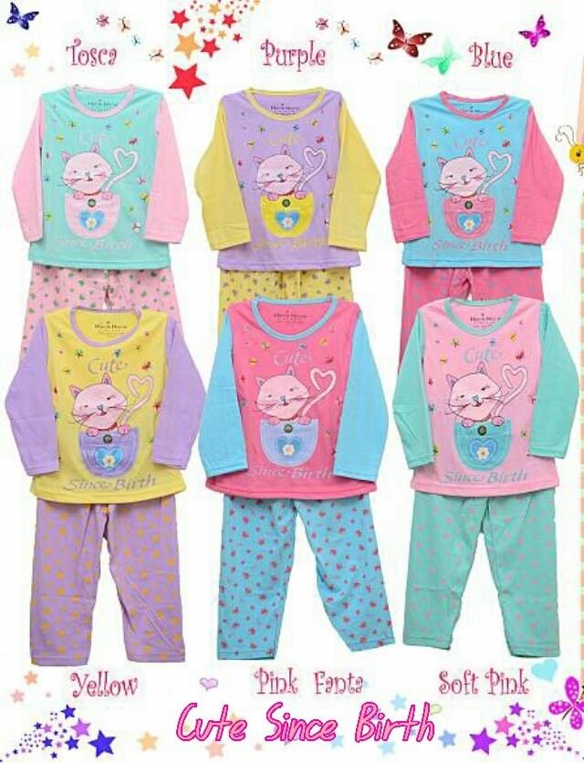 Piyama Anak / Piyama Bayi / Baju Anak / Baju Bayi / Baju Tidur Anak