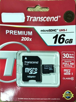 harga Transcend microsdhc 16gb class10 with adapter Tokopedia.com
