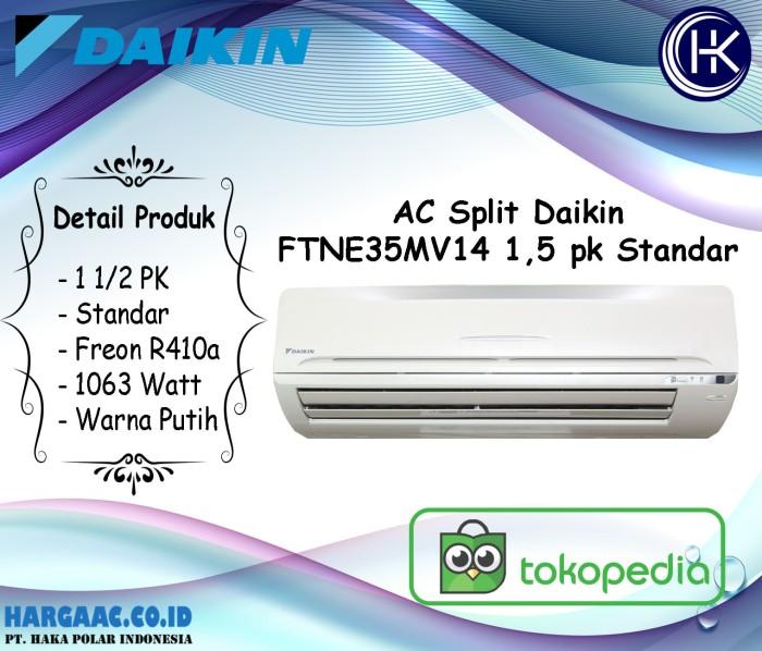 Jual Ac Daikin Ftne35mv14 1 5 Pk Split Wall Mounted Standar R410