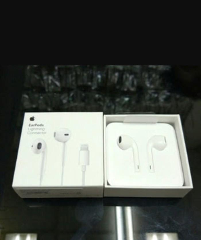 Jual earphone headset handfree iphone 7 ORIGINAL IBOX - Kota Bekasi -  Ridhocell3 | Tokopedia