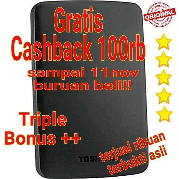 harga Toshiba 1tb ori / hdd / hd / hardisk eksternal external harddisk Tokopedia.com