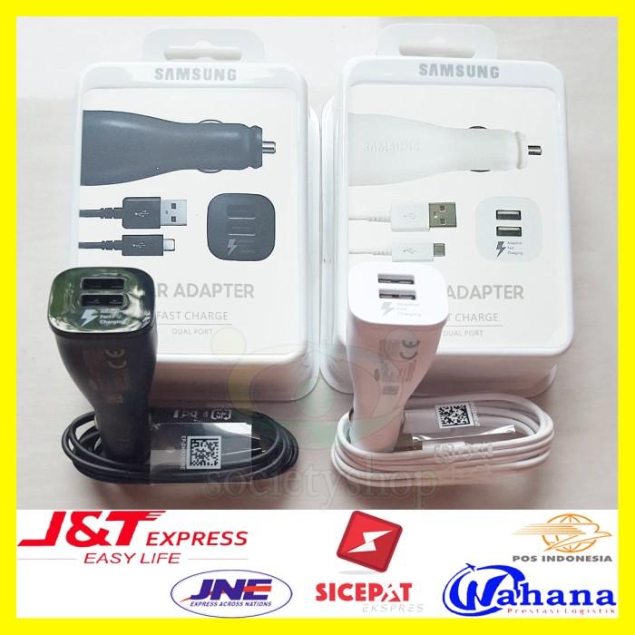 harga Samsung car charger mobil ori adapter hp cas fast carger note 3 4 5 6 Tokopedia.com