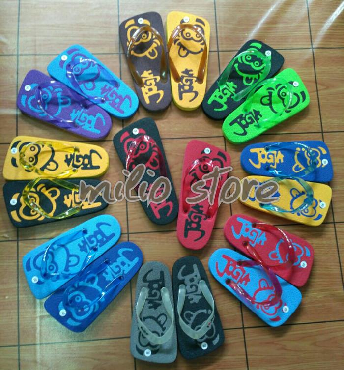 grosir & ecer sandal anak khas jogja