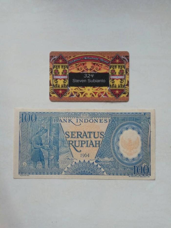 harga Uang kuno indonesia 100 rupiah pekerja biru th 1964 Tokopedia.com