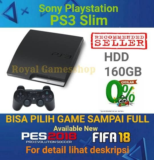 Ps3 Ps 3 Slim Hdd 160gb Full Games