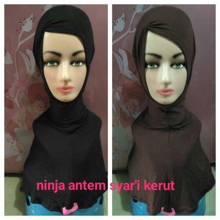 ... harga Inner ciput ninja antem instan kerut syar'i nyaman cantik Tokopedia.com
