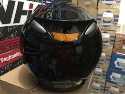 Helm INK Centro Original Hitam 3
