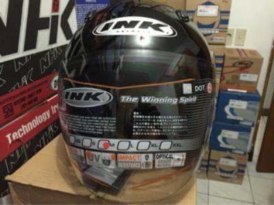 Helm INK Centro Original Hitam 1