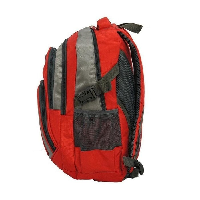 3d54a6a10e Real Polo Tas Ransel Kasual 6369 Backpack Daypack Merah - Info ...