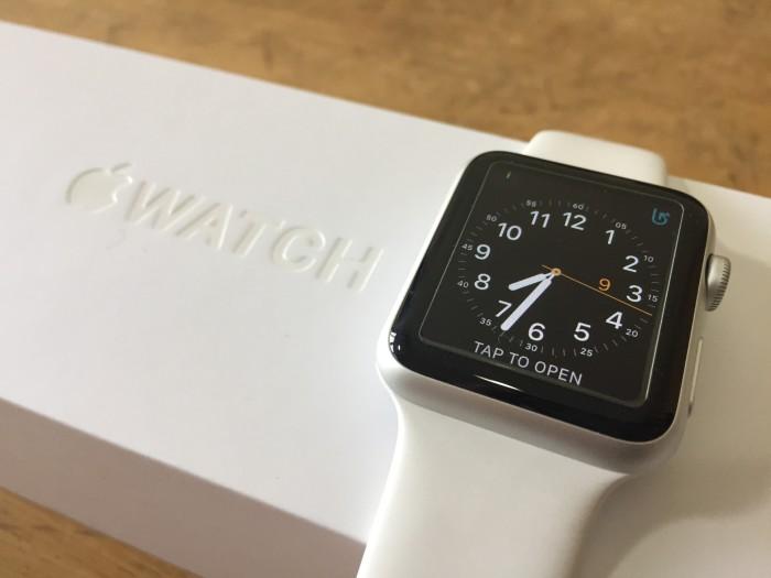 Apple Watch Sport 42mm Silver White - 1st gen (second / bekas)
