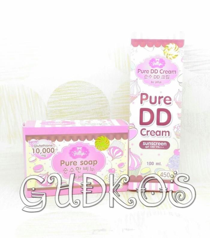 PAKET Soap+DD Cream Jellys Original Thailand 100%