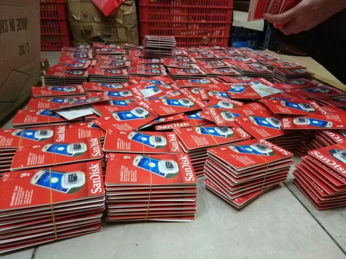 harga Memoy hp mmc microsd sandik 16 gb Tokopedia.com