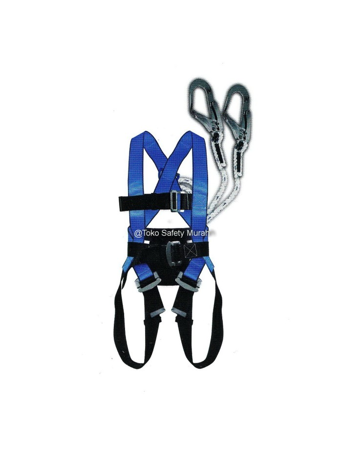 harga Safety harness / sabuk pengaman full body ecofit double hook besar Tokopedia.com