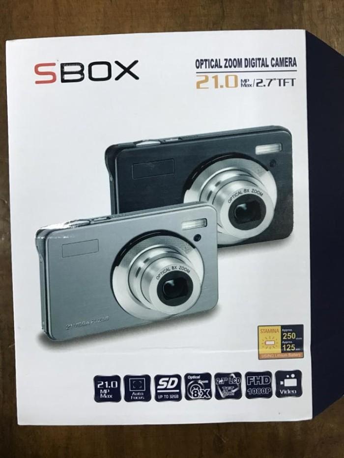 harga Kamera digital sbox / camera digital pocket sbox 21.0mp garansi resmi Tokopedia.com