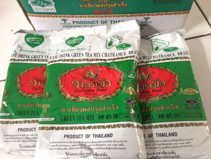 ... Thai Green Tea Chatramue Number One Brand Thailand Green Tea Mix 200gr ...