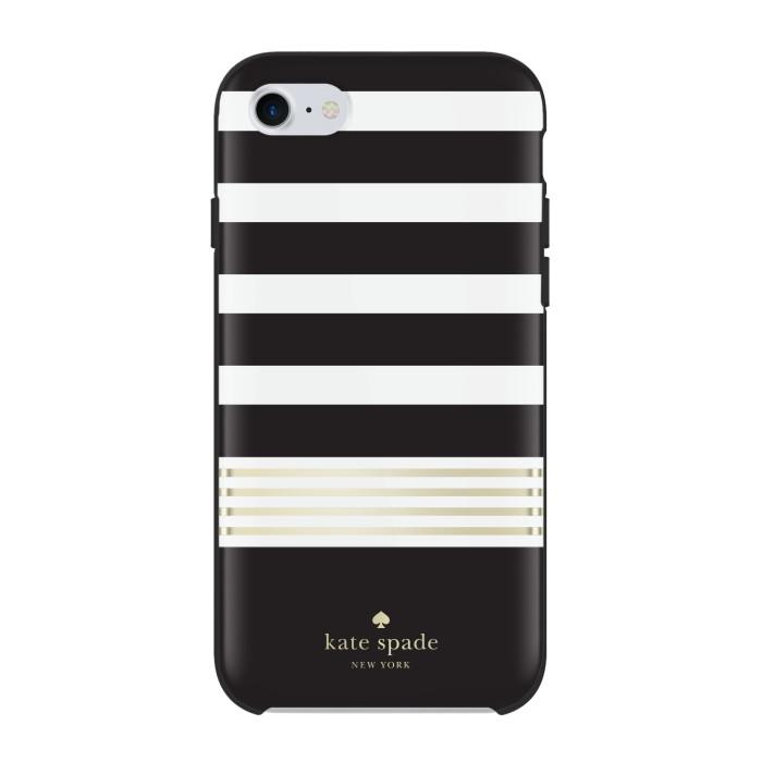 harga Kate spade new york iphone 7 protective hardshell case - stripe2black Tokopedia.com