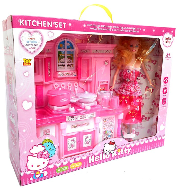 Jual Promo Special Kitchen Set Hello Kitty Kado Mainan Anak Masak Masakan Jakarta Barat Faizah Shop Tokopedia
