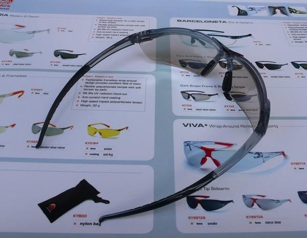 Kacamata Safety KING'S KY 713 Clear / Silver Mirror Lens