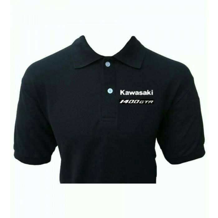 polo shirt/kaos kerah pria/Kawasaki 1400 GTR