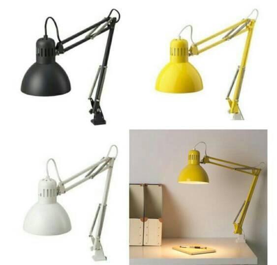 Lampu Kerja Lampu Meja Lampu Belajar Ikea Tertial