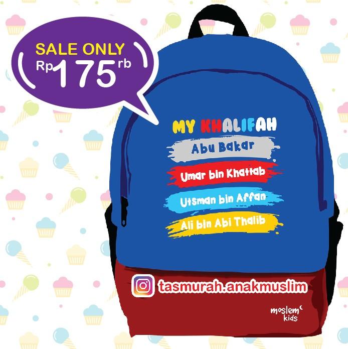 Moslem Kids Tas Ransel Anak Cewek Yuk Teladani Aisyah Untuk Sd Pink Source · Tas sekolah anak backpack untuk anak sd smp