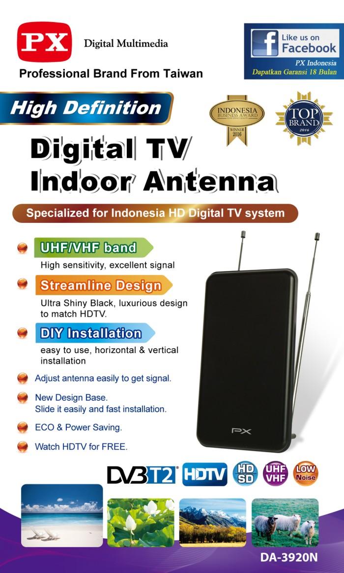 harga Antena tv digital indoor px da-3920n antenna dalam support set top box Tokopedia.com