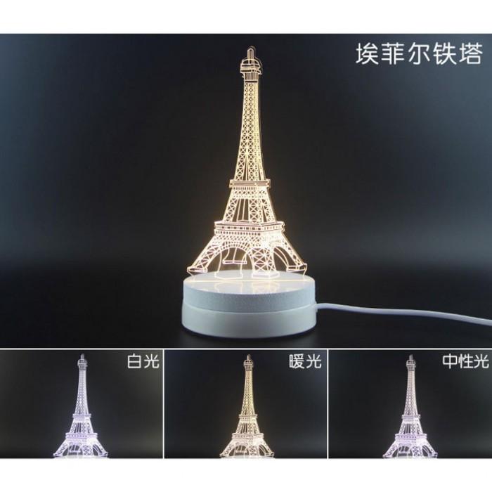 Wallpaper Dinding Kamar Gambar Menara Eiffel  jual lampu hias kamar led design menara eiffel kota yogyakarta kendamall tokopedia